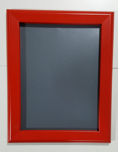 Bulletin Frame es Front Loading Quick Poster Change, Wall Mounted, HEAVY DUTY