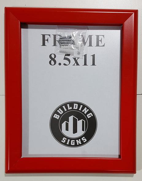 Fire Notice Frame HEAVY DUTY Building Frame