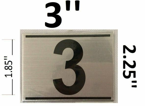APARTMENT NUMBER THREE (3)