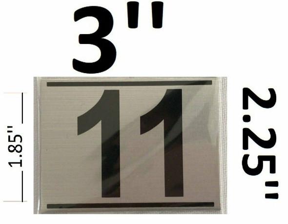 APARTMENT NUMBER ELEVEN (11)