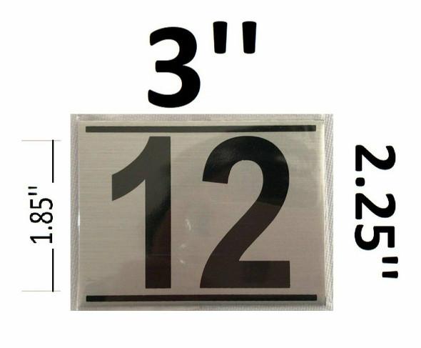 APARTMENT NUMBER TWELVE (12)