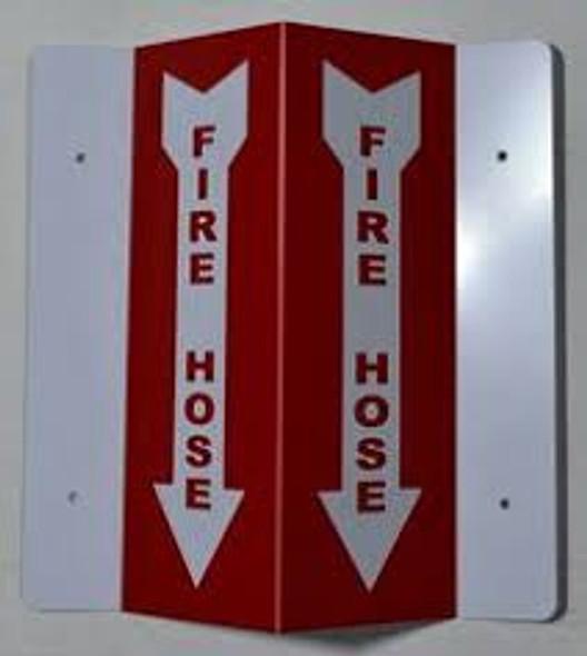 Fire Hose 3D Projection Sign/Fire Hose Sign