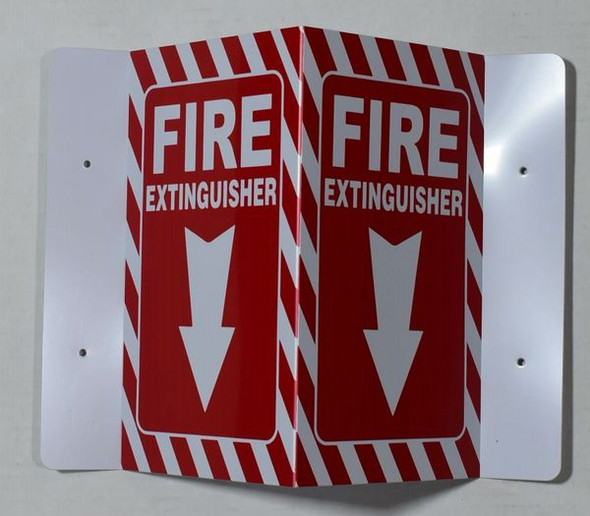 FIRE EquipmentD Projection Sign/FIRE Equipment Sign