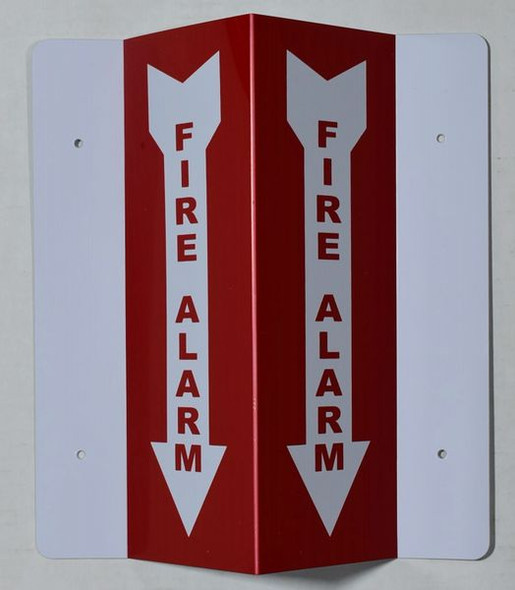 FIRE AlarmD Projection Signage/FIRE Alarm Signage