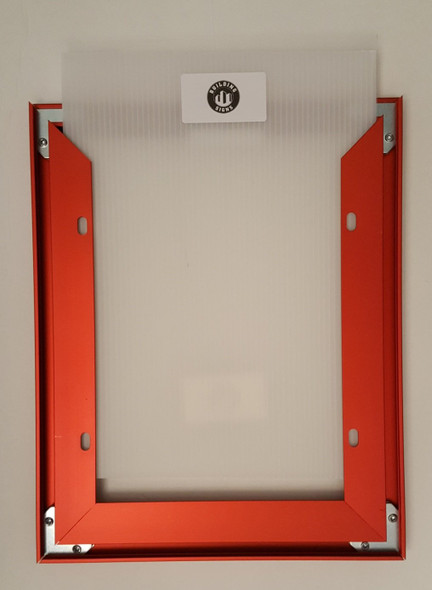 Elevator Inspection Frame RED ( Heavy Duty - Aluminum)-