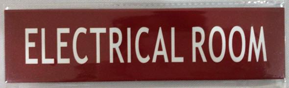 Electrical Room Door/Wall Sign