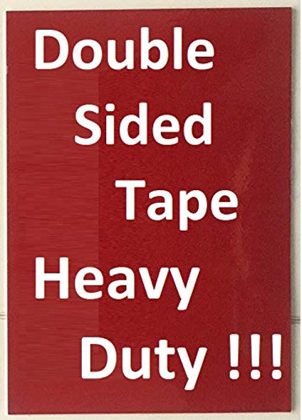 Door Fire Safety Notice Sign- Fire Proof Building (Aluminum Sign,8.5x5.5, Plus Two Sided Sticker)