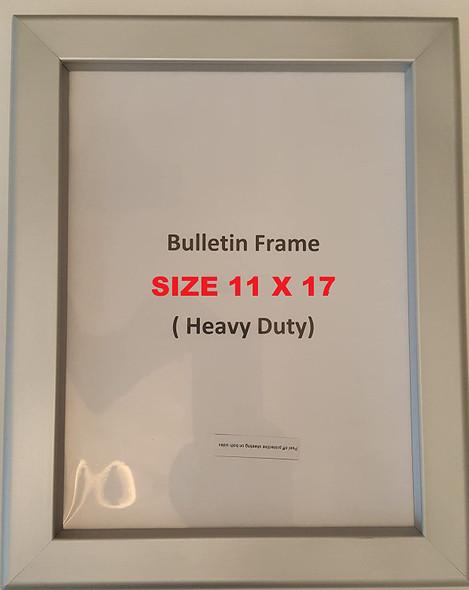 Hallway/Lobby Notice Frame  ( Heavy Duty - Aluminum)