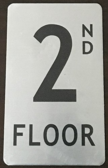 2nd floor Signage