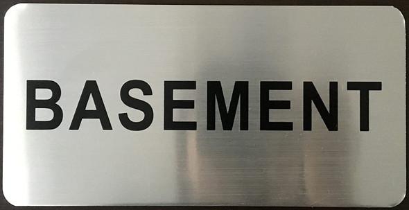 Basement Floor Sign