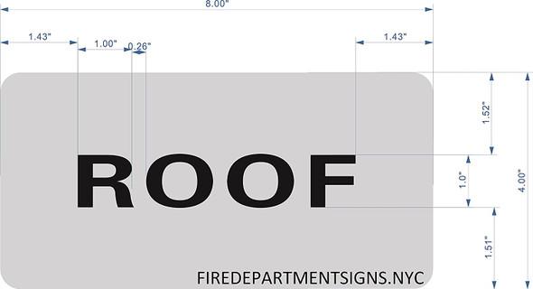 ROOF Floor Signage