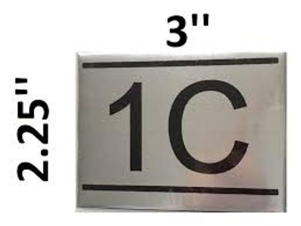 APARTMENT NUMBER  -1C