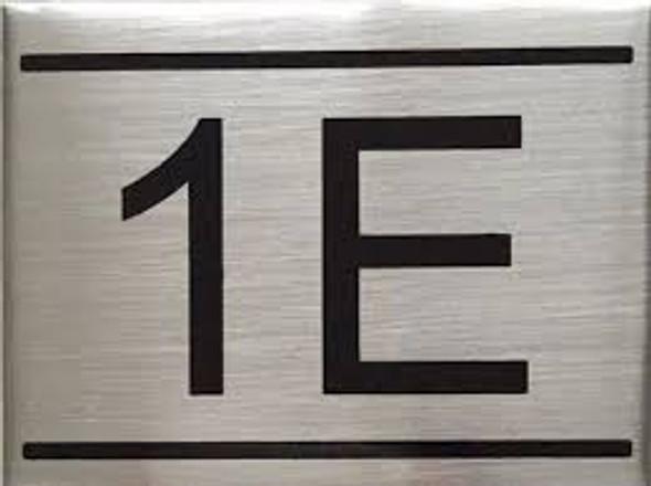 APARTMENT NUMBER  -1E