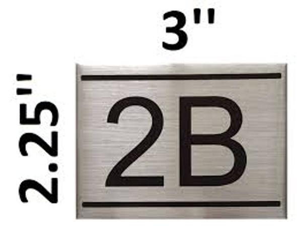 APARTMENT NUMBER  -2B