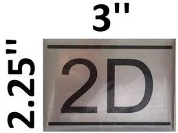 APARTMENT NUMBER  -2D