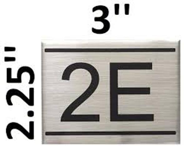 APARTMENT NUMBER  -2E