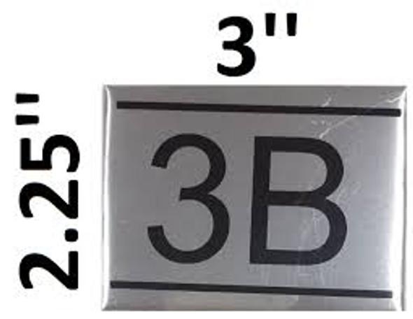 APARTMENT NUMBER  -3B