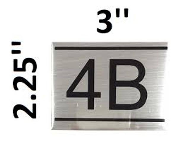 APARTMENT NUMBER  -4B