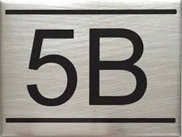 APARTMENT NUMBER  -5B