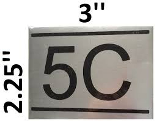 APARTMENT NUMBERSignage