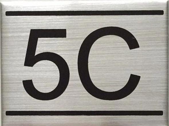 APARTMENT NUMBER  -5C