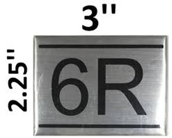 APARTMENT NUMBER  -6R