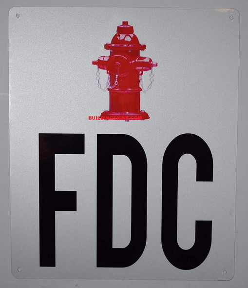 FDC Sign with Symbol Sign