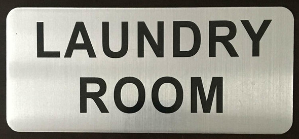 LAUNDRY ROOM SIGNAGE-The Mont argent line