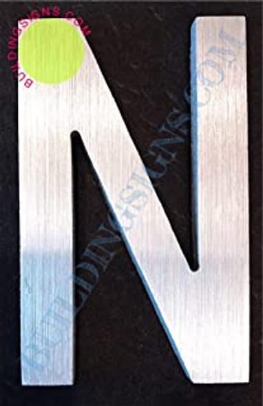 Aluminum Letter N Sign