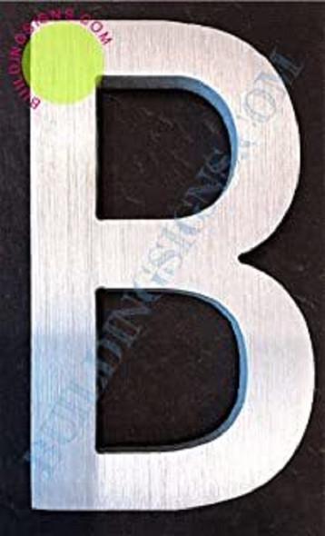 Aluminum Letter B Sign