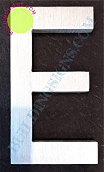 Aluminum Letter E Sign