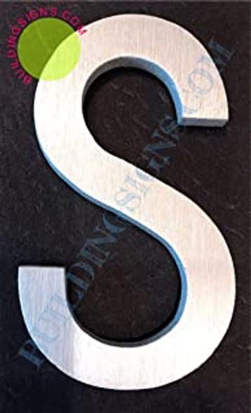 Aluminum Letter S