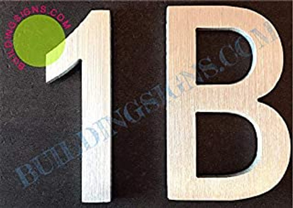 Apartment Number 1B Sign
