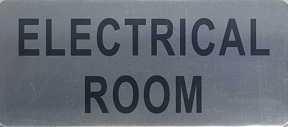 Electrical Room Sign Brush