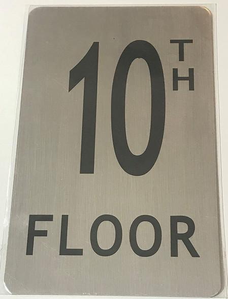 10TH Floor Signage
