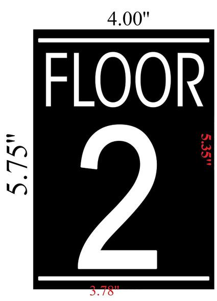 FLOOR 2 SIGN