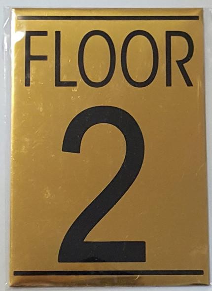SIGN FLOOR 2
