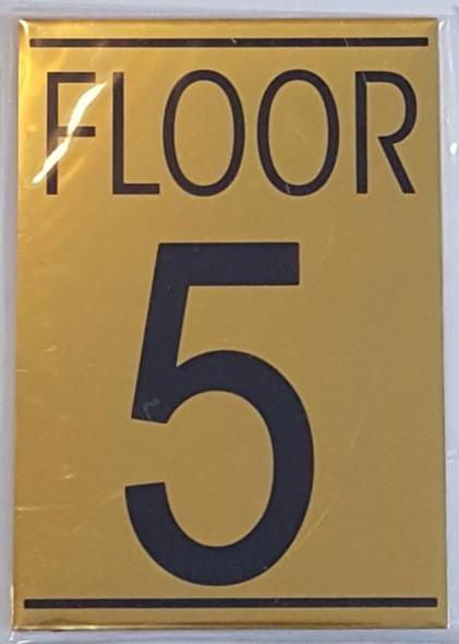 SIGN FLOOR 5