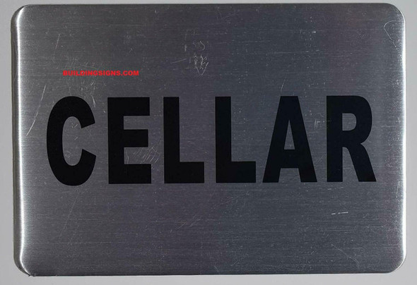 SIGN Cellar Floor