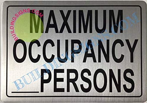 Maximum Occupancy