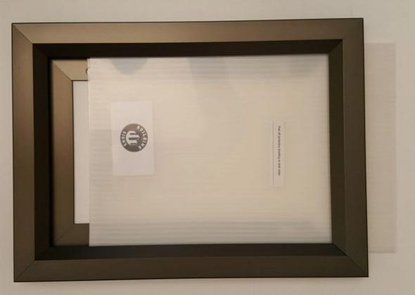 Elevator Inspection Frame Black , (Heavy Duty - Aluminum)