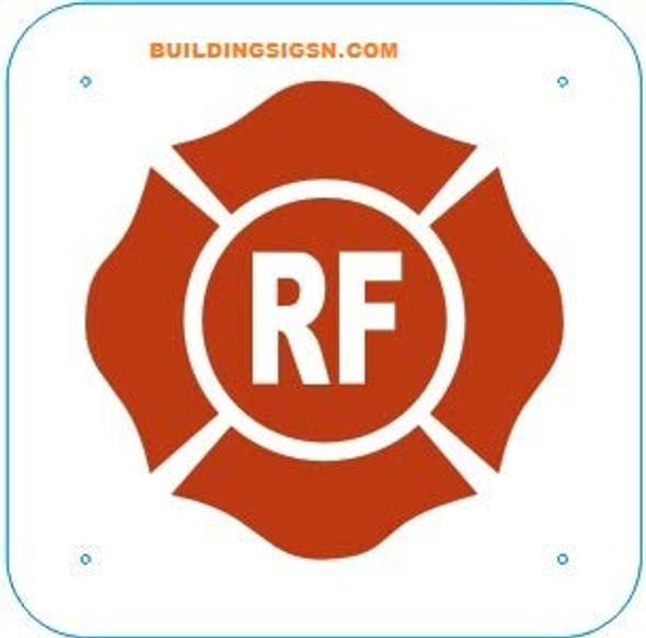 Florida Truss Construction Sign-RF (,Reflective StickerHeavy Duty,Rust Free)