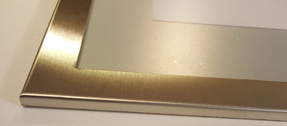 BATHROOM PICTURE FRAME STAINLESS STEEL