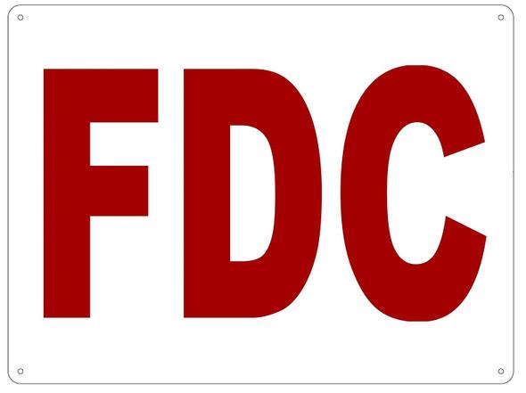 FDC SIGN  ALUMINIUM