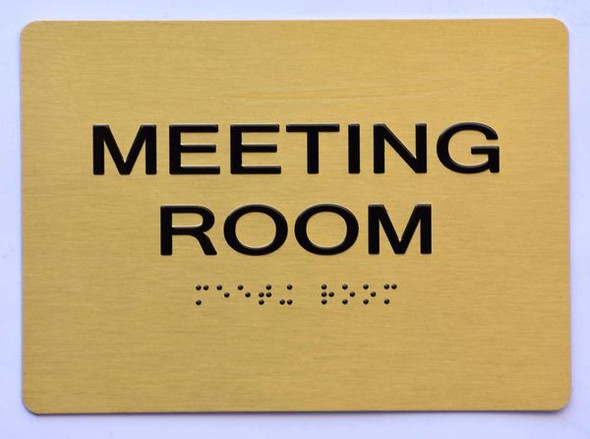MEETING ROOM Dob Sign