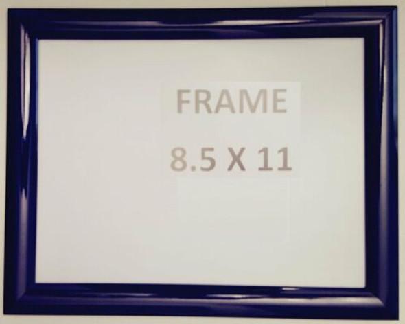 Dark Blue Snap Poster Frame/ Picture Frame / notice frame Front Load Easy Open Snap frame  Building Frame