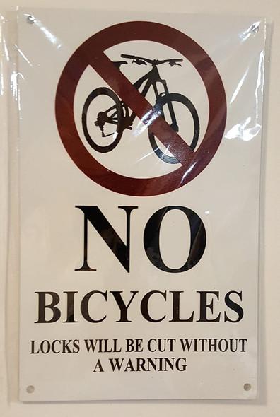 NO Bicycles Locks Will