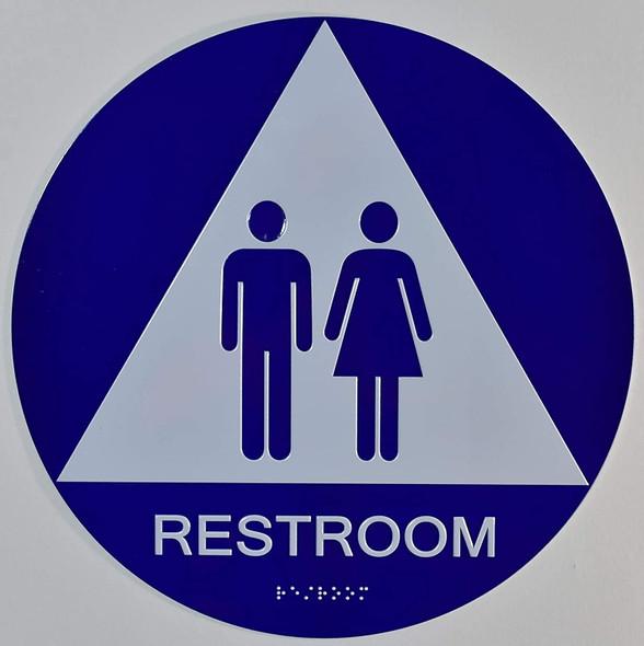 Unisex Restroom CA 128-ADA
