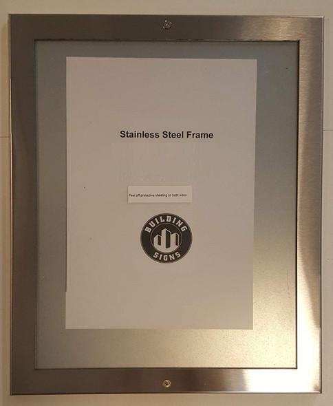 Elevator Certificate Frame 7x8