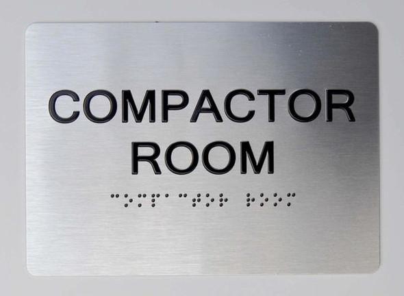 Compactor Room ADA Sign